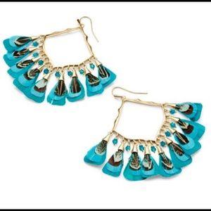 KENDRA SCOTT NWOT Raven earrings
